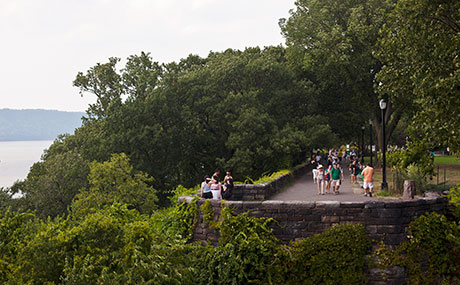 Photo Joe Buglewicz Fort Tryon Park