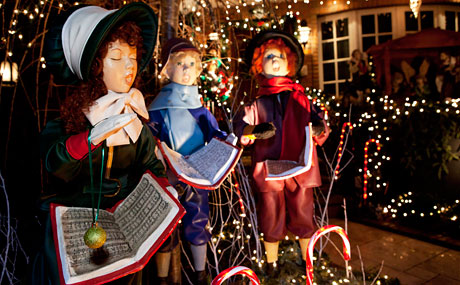 Dyker heights christmas lights in new york city a slice of