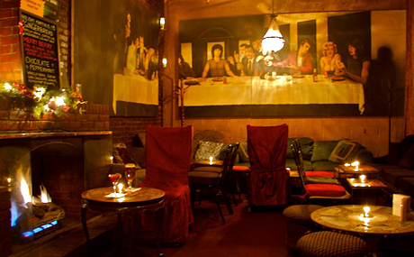 NYC Bars with Fireplaces – Brandy Library, Art Bar, Ninth Ward and ...