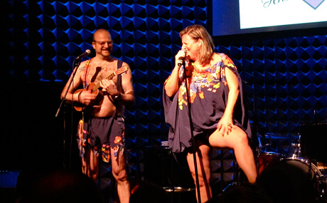Bridget Everett with Larry Krone