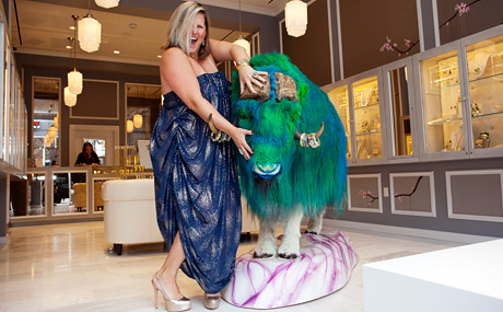 Bridget Everett at Alexis Bittar