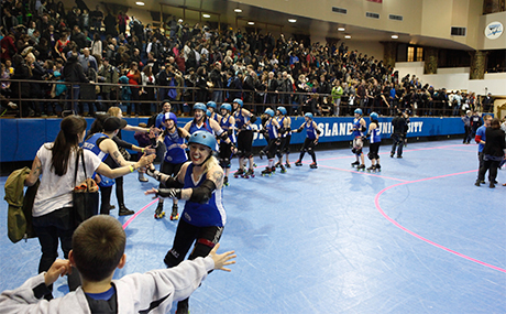 Post-bout, Gotham Girls