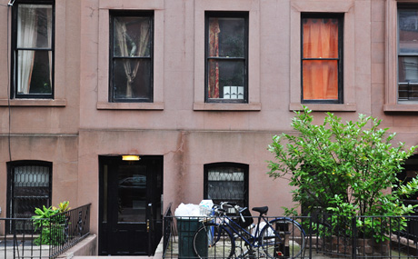 Norman Mailer's former residence at 48 Remsen Street