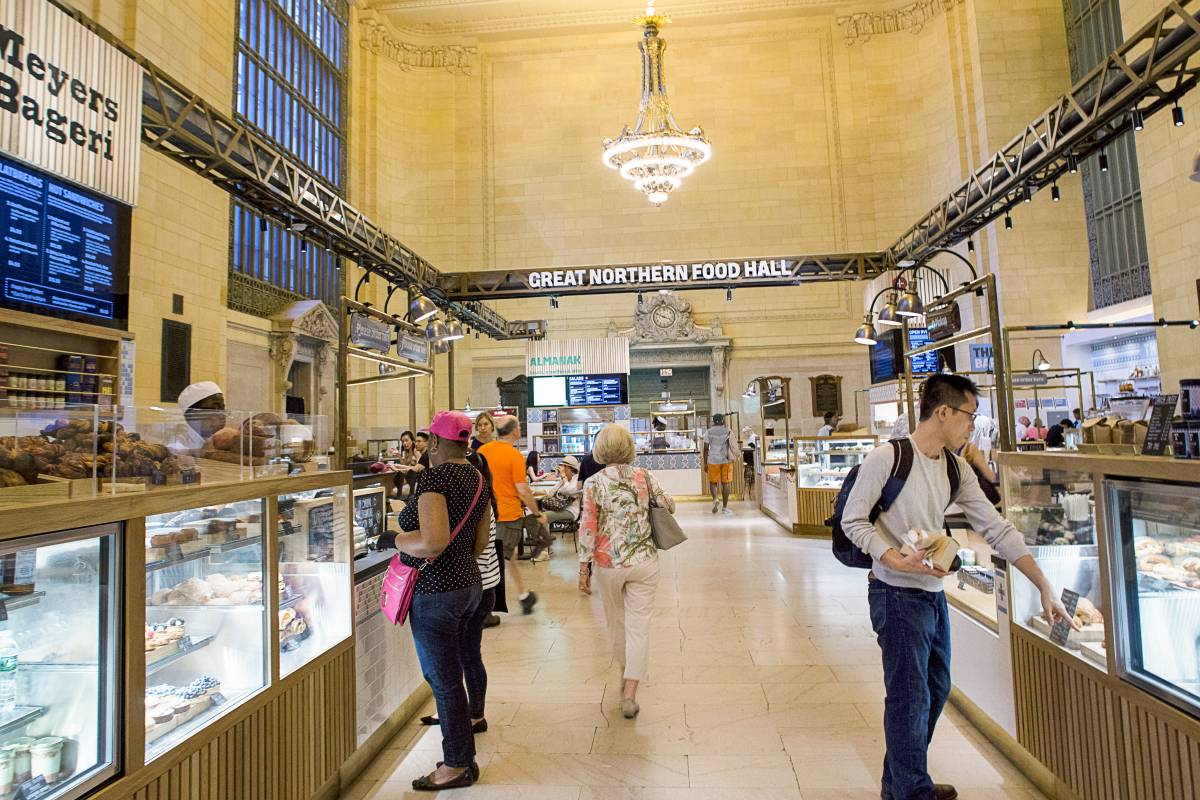New York City S Best Food Halls Best New York Food
