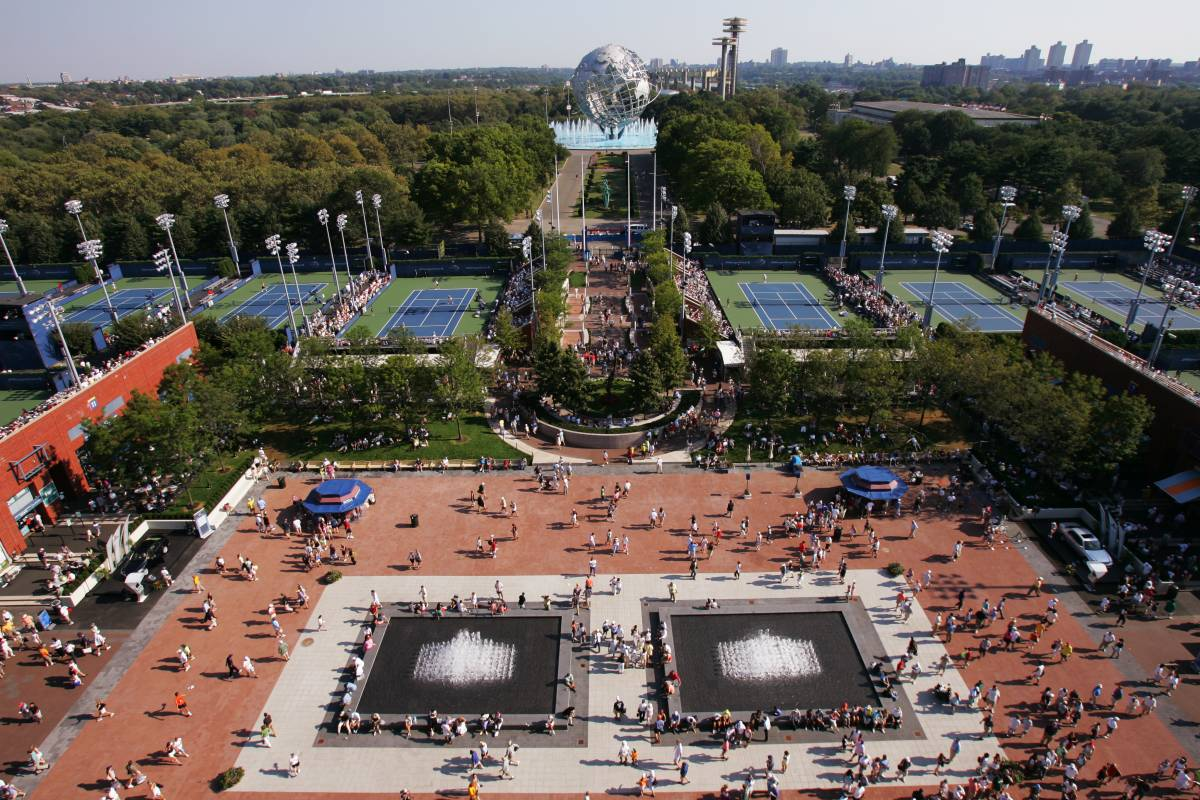 US Open Tennis Visitor Guide - Us open tennis parking map