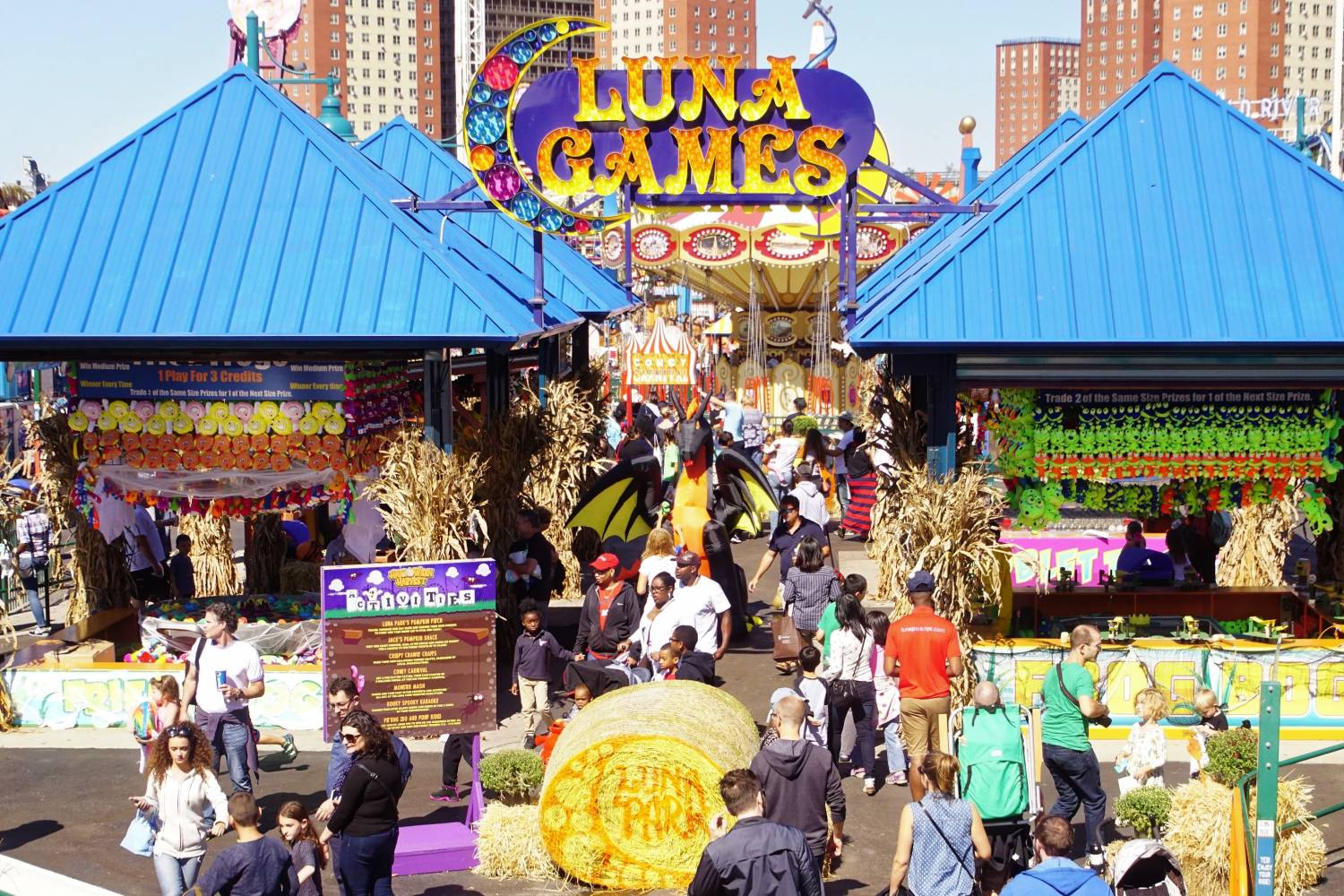 halloween harvest at luna park the official guide to new york city