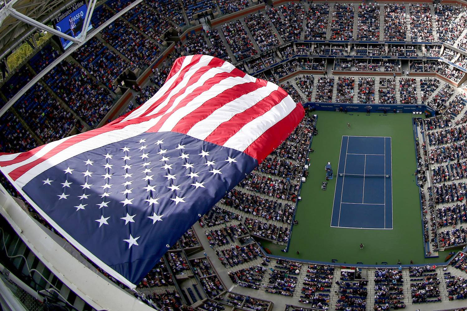 US Open Tennis Championships The Official Guide To New York City - Us open tennis location map