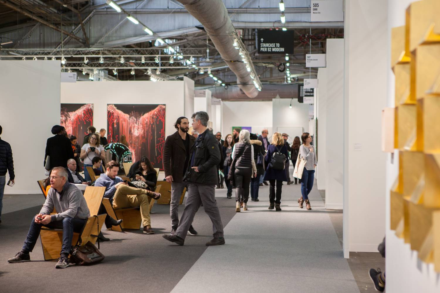 Armory Show 2020.The Armory Show Manhattan Museums Galleries Events