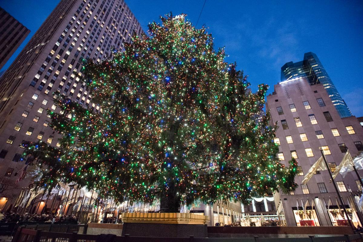 Christmas Tree Lighting In Nyc 2017