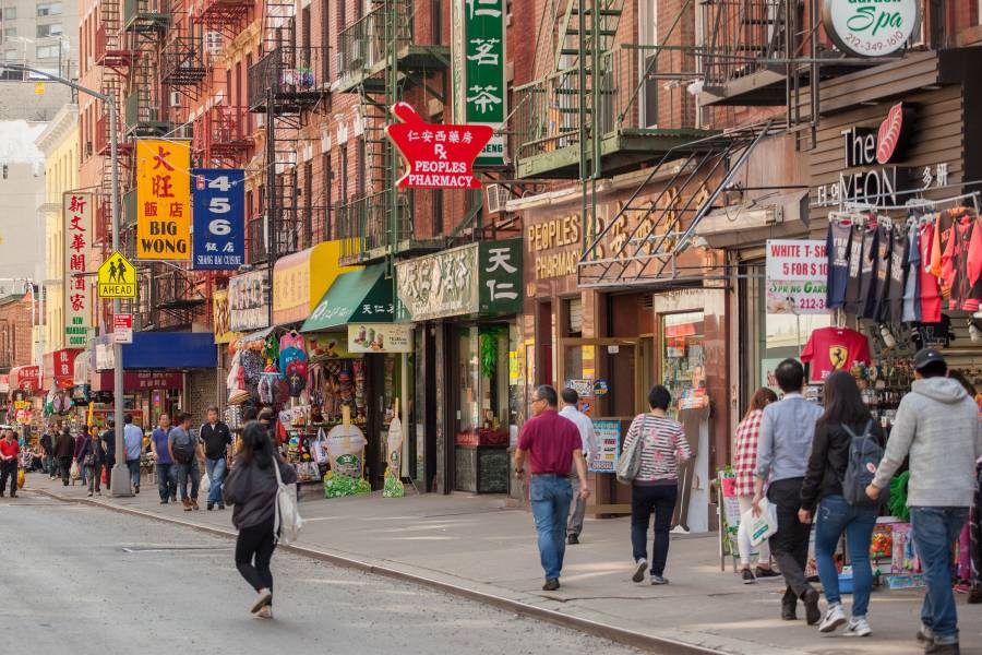 New York City Chinatowns Manhattan Queens And Brooklyn