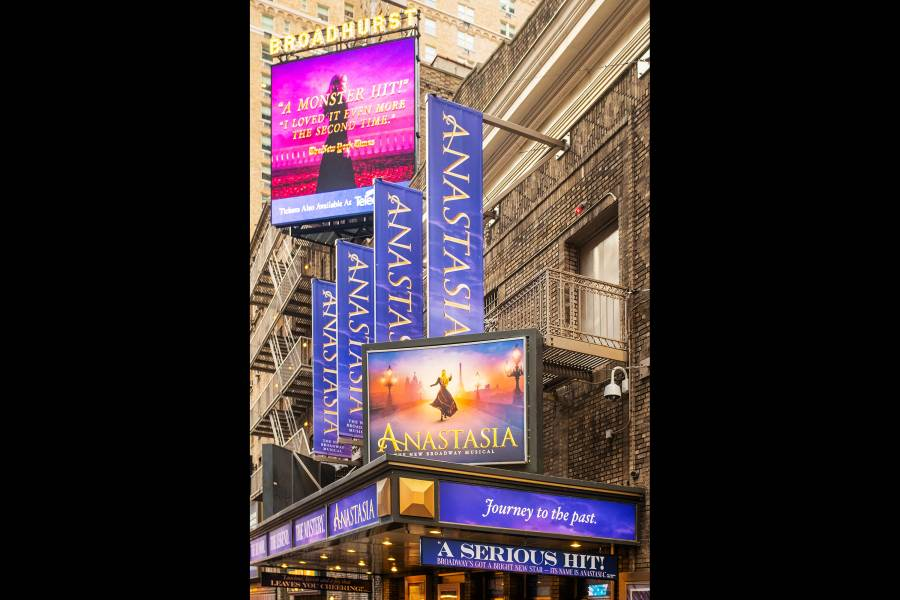 Broadway's Best and Brightest Marquees