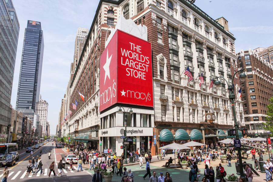 Macy's in Harold Square NYC