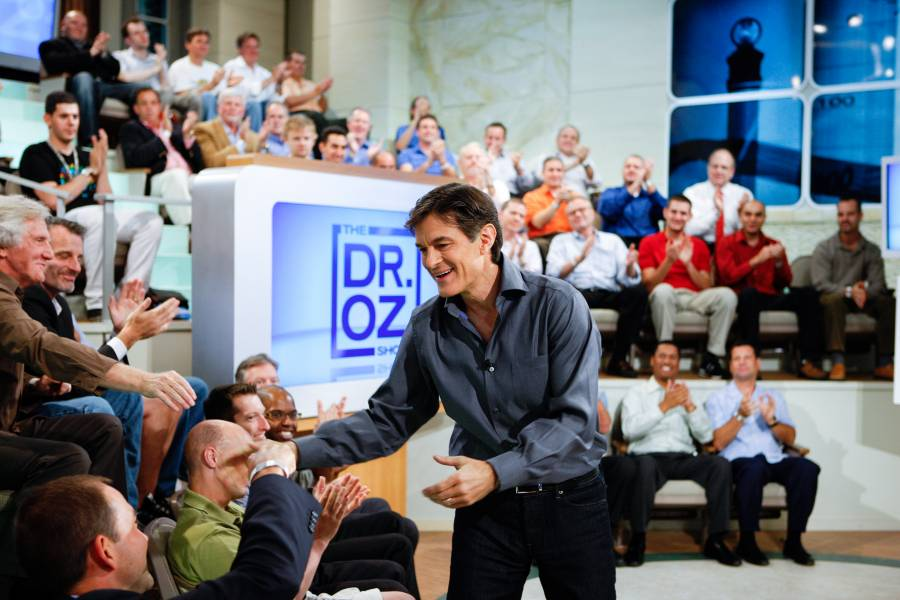 Live taping of The Dr. Oz Show in NYC