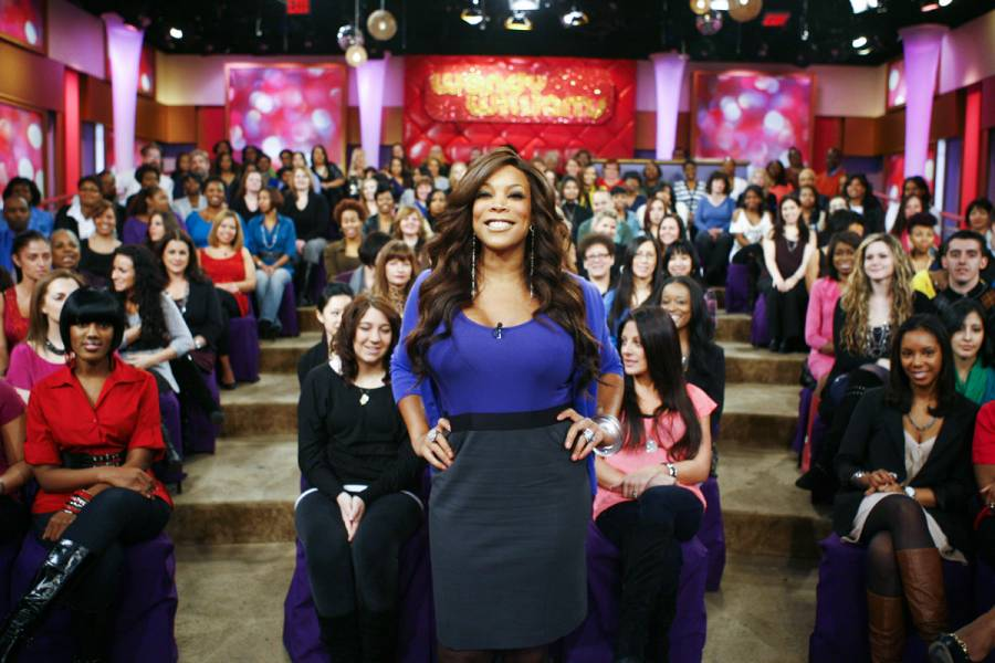Live taping of The Wendy Williams Show in NYC