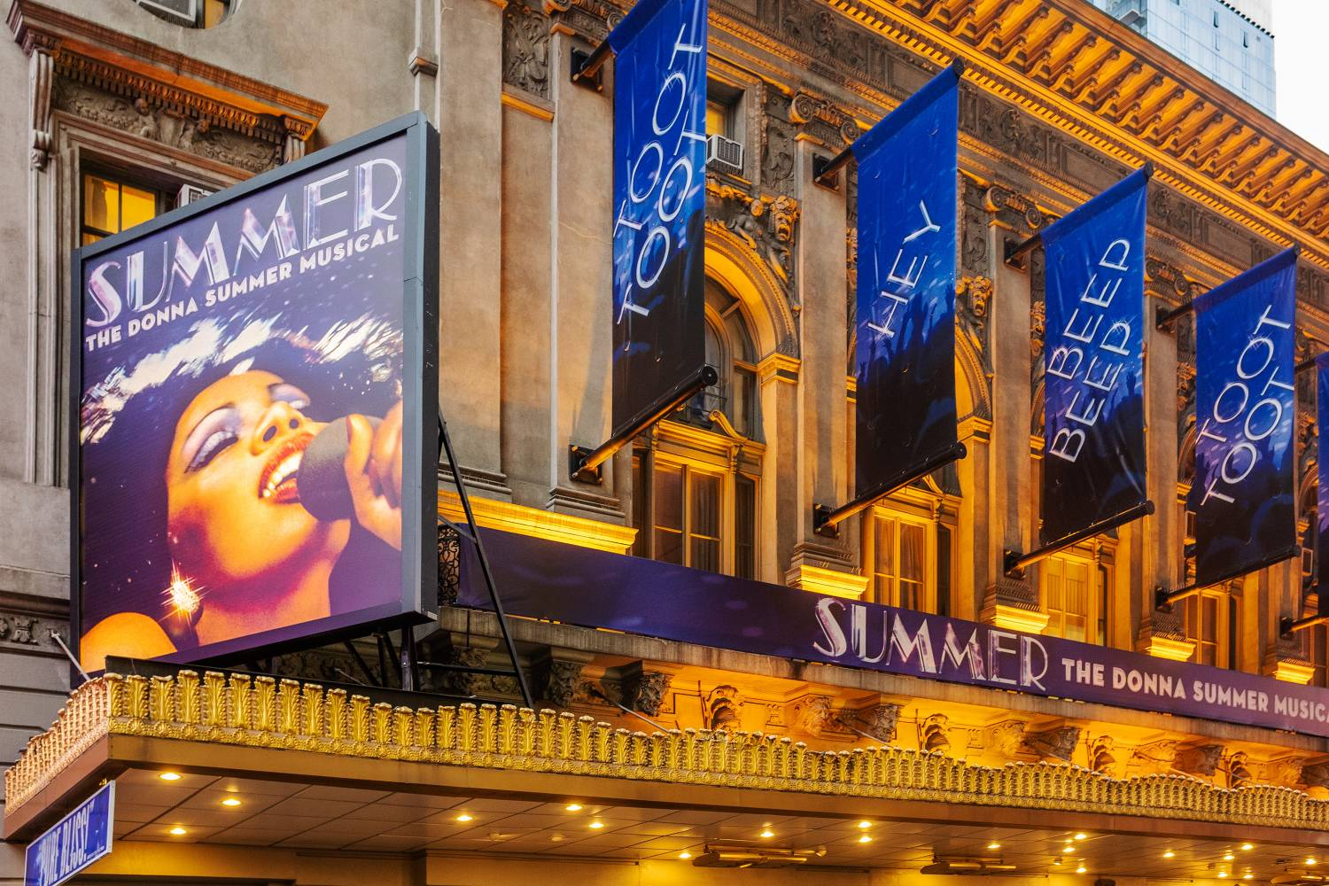 Broadway\'s Best and Brightest Marquees