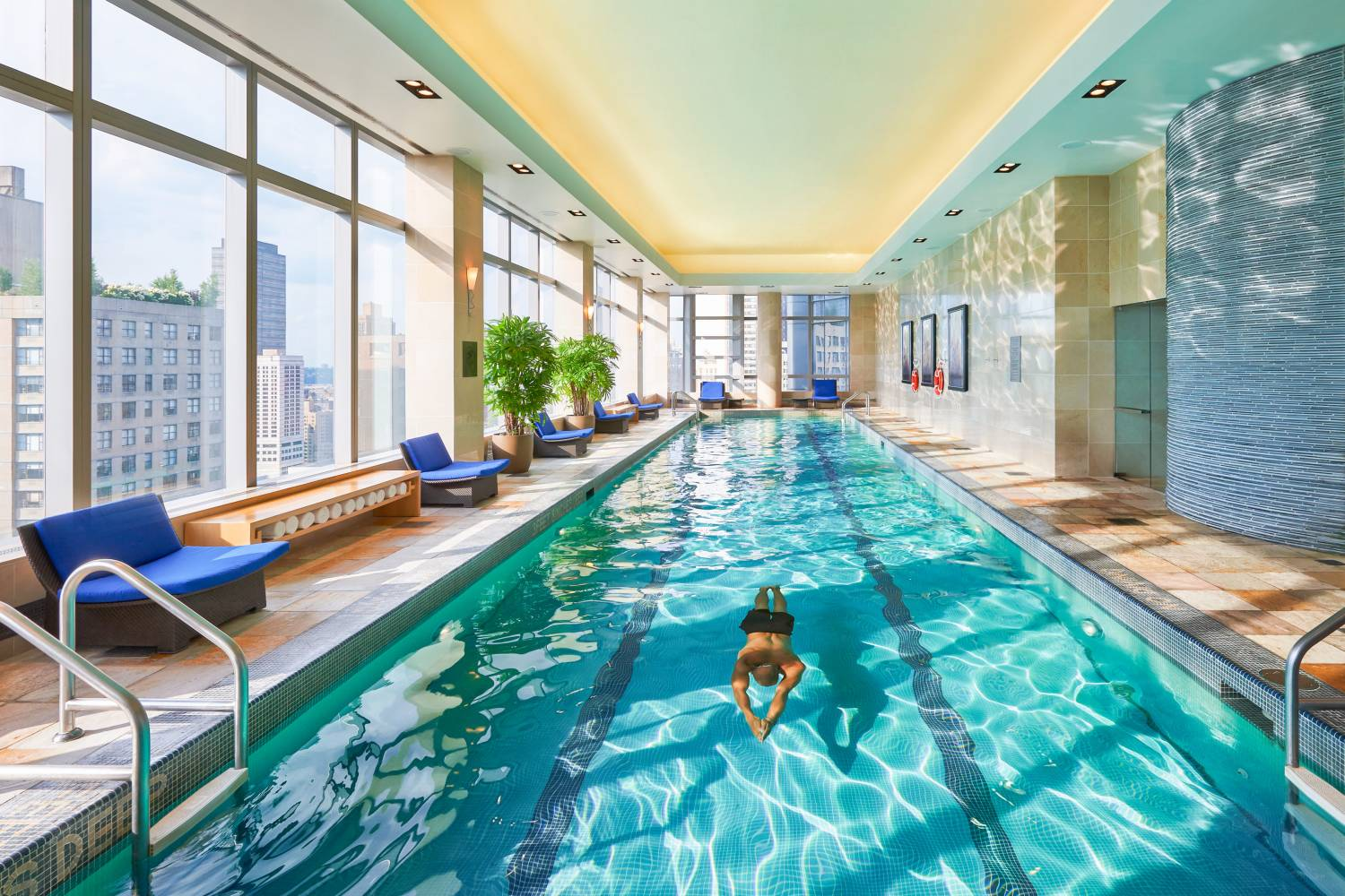 Nyc hotels with swimming pools for New swimming pool