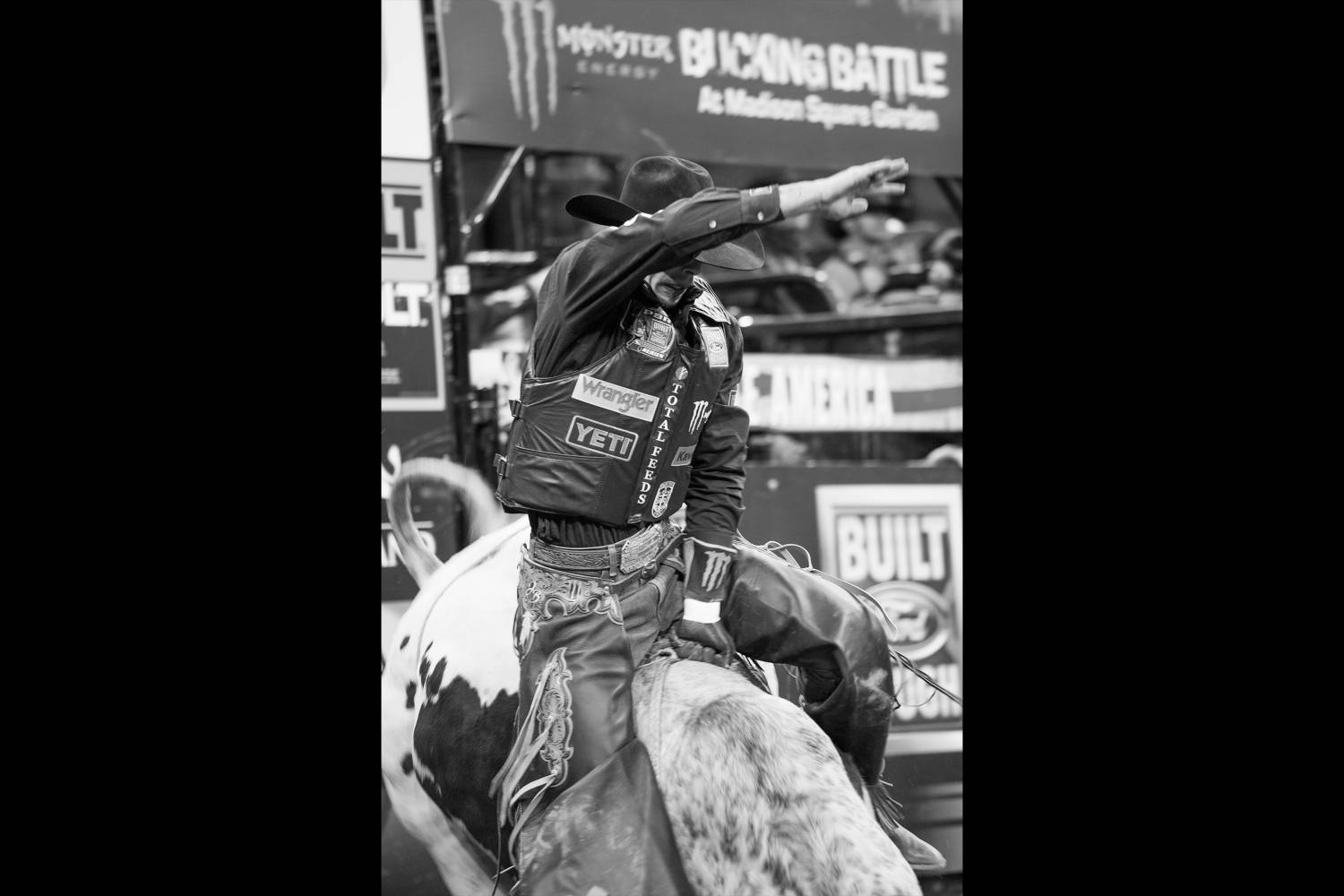 Up close with pro bull riders at madison square garden - Bull riding madison square garden ...
