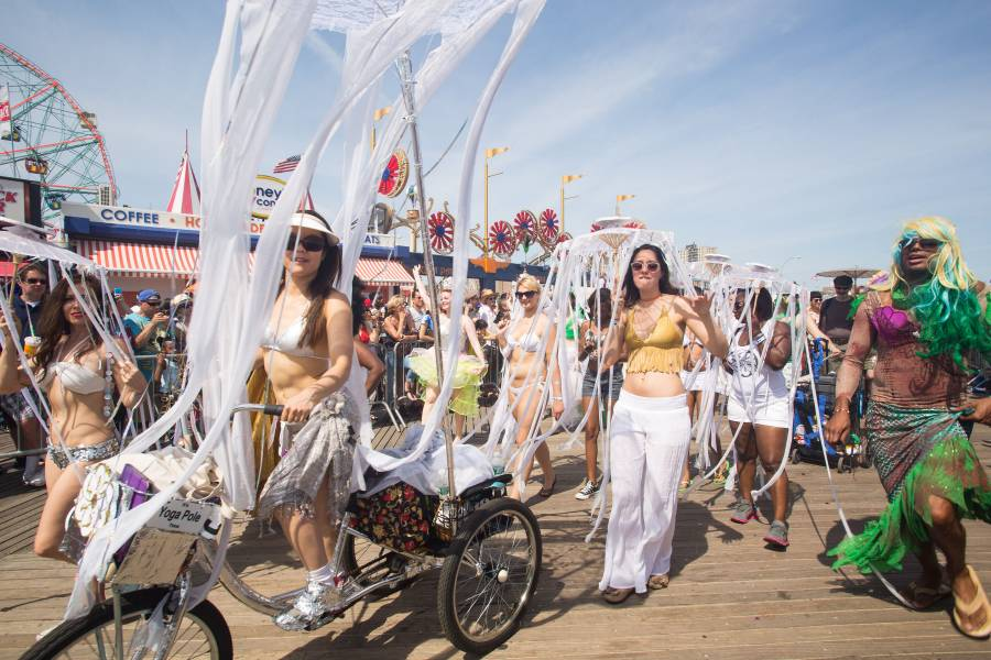 Mermaid Parade at Coney Island