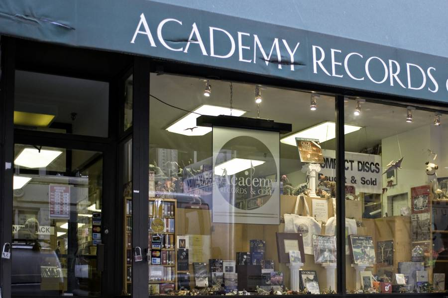 Academy Records,shopping, union square, manhattan, nyc,