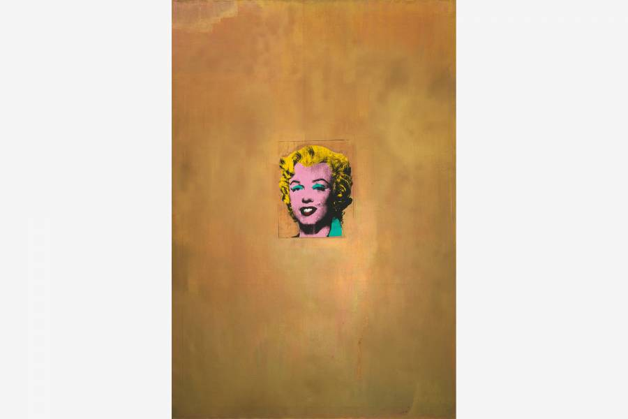 Andy Warhol. Gold Marilyn Monroe. 1962. Gift of Philip Johnson. © 2017 Andy Warhol Foundation for the Visual Arts / Artists Rights Society (ARS), New York