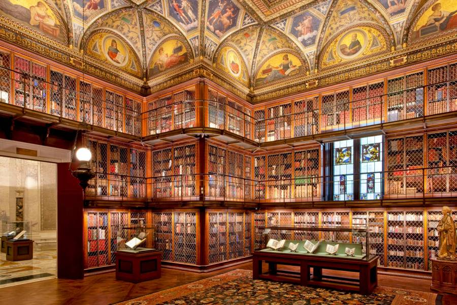 Morgan-Library-Murray-Hill-Manhattan-NYC-eastroom-grahamhaber_900_600_70 Free NYC Museums