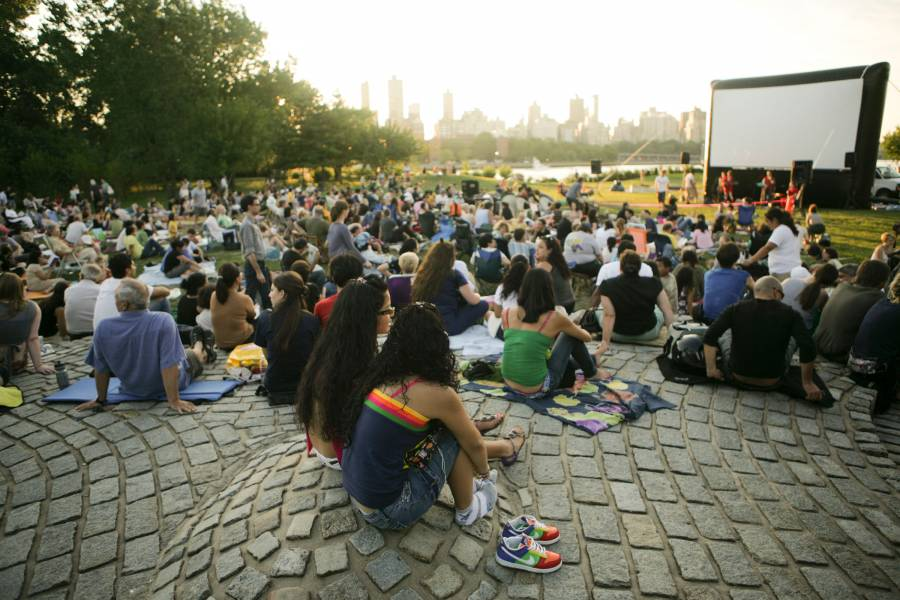 All the Free Outdoor Movies in New York This Summer