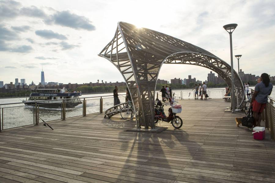 east river park, ferry