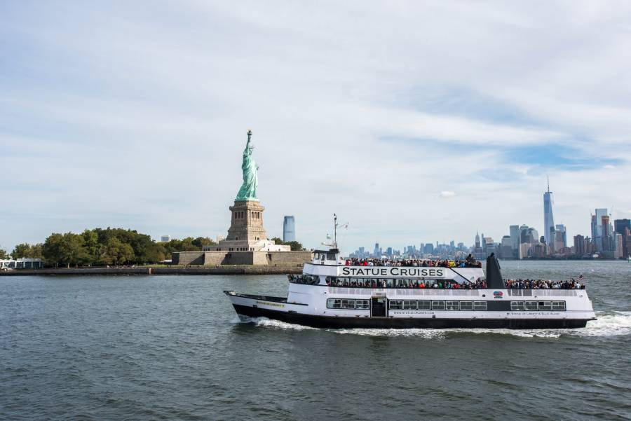 Ferry Tickets To Liberty Island And Ellis Island