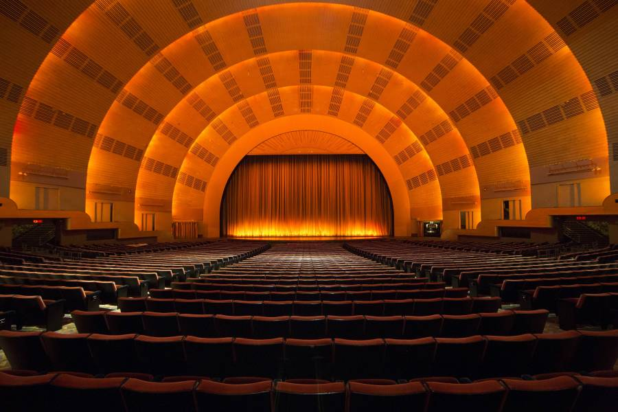 radio city stage, tour