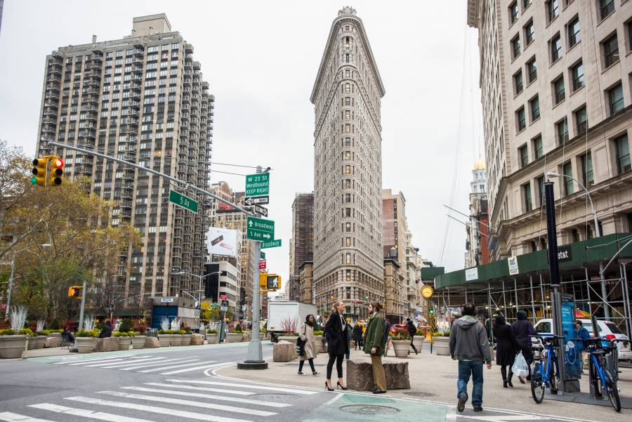 Flatiron District Ny Flatiron Building Eataly Madison