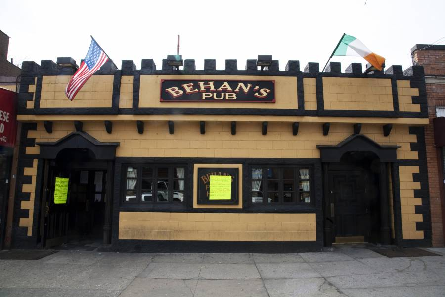 Behan's Pub. in woodlawn