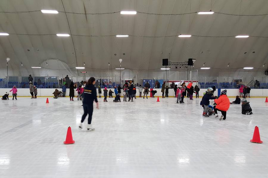 Best Places To Ice Skate In New York City Nycgo Com City