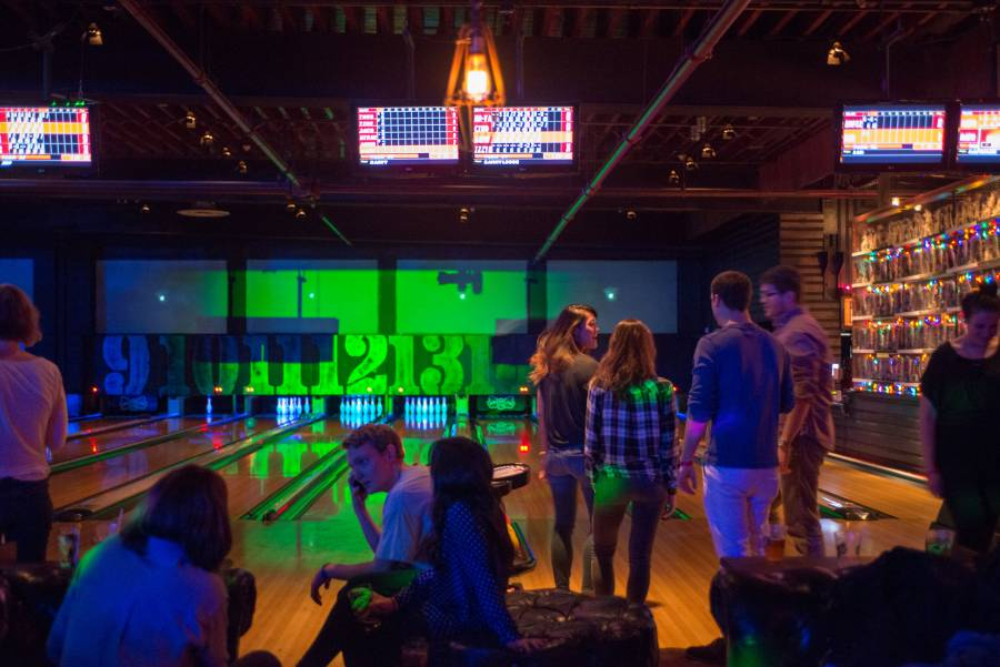 Brooklyn Bowl interior