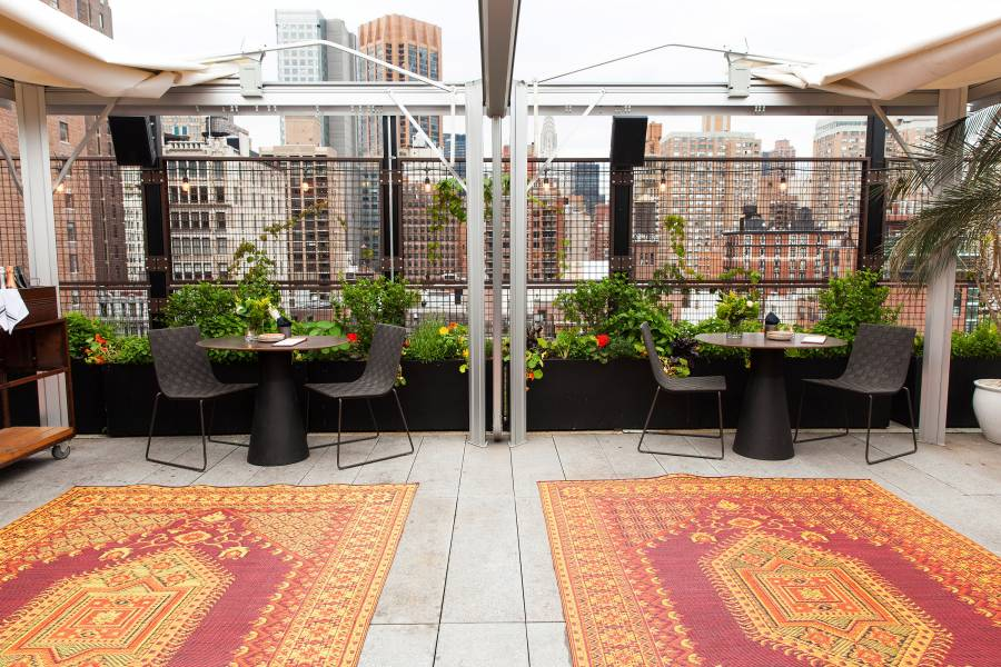 Garden Walk Dining: Best Rooftop Restaurants In New York City