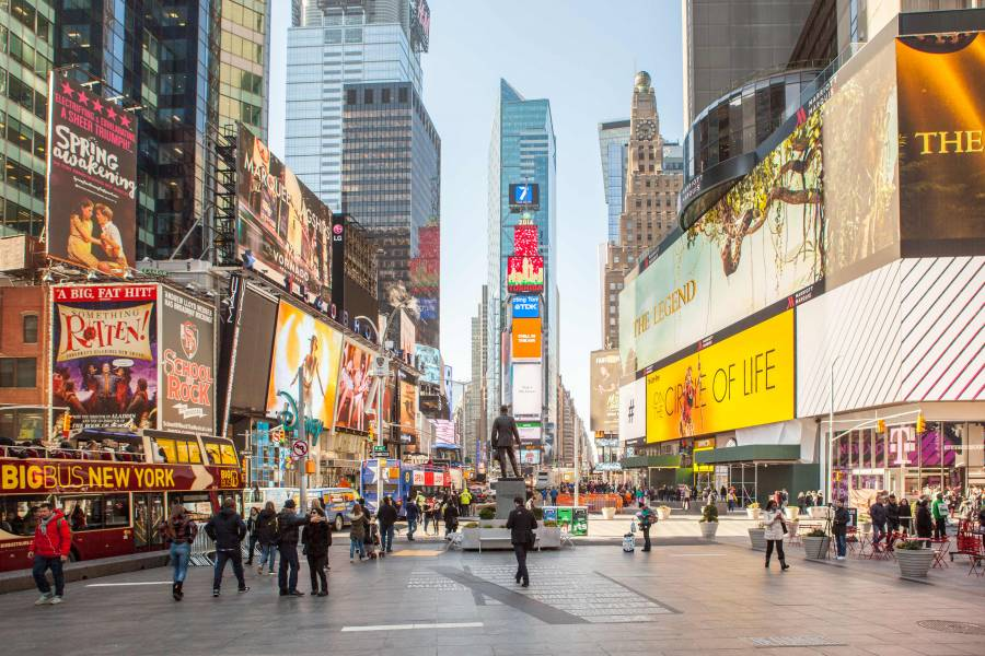 Times Square Neighborhood Guide – Broadway, Restaurants ...