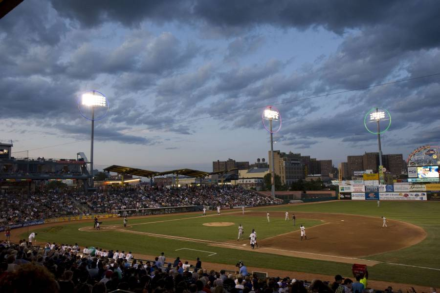 Brooklyn Cyclones, Brooklyn Cyclones Baseball Game, NYC Baseball, Baseball Game Summer Night
