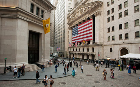 Image result for Wall Street, New York
