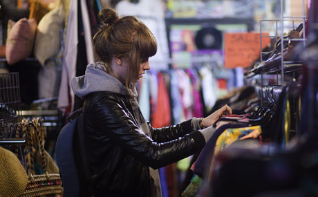 Another vintage store in East London