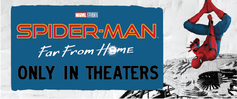 Spider-Man Far From Home Only In Theaters