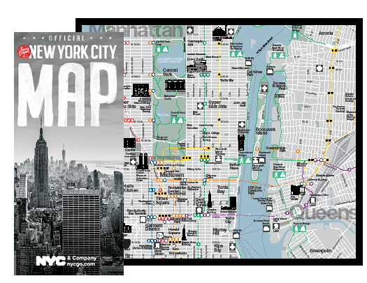 Printable Map Of New York City Maps & Guides of New York City | NYCgo