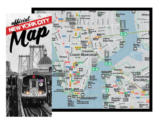 New York City Navigating Subway Map.Maps Guides Of New York City Nycgo