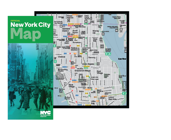 Maps Guides of New York City NYCgo