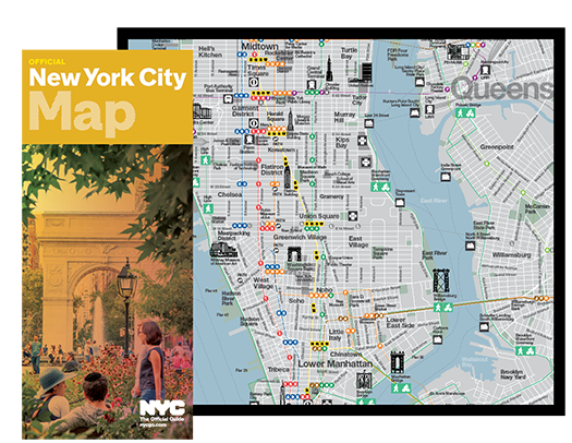 Maps guides of new york city nycgo - Tourist office new york city ...