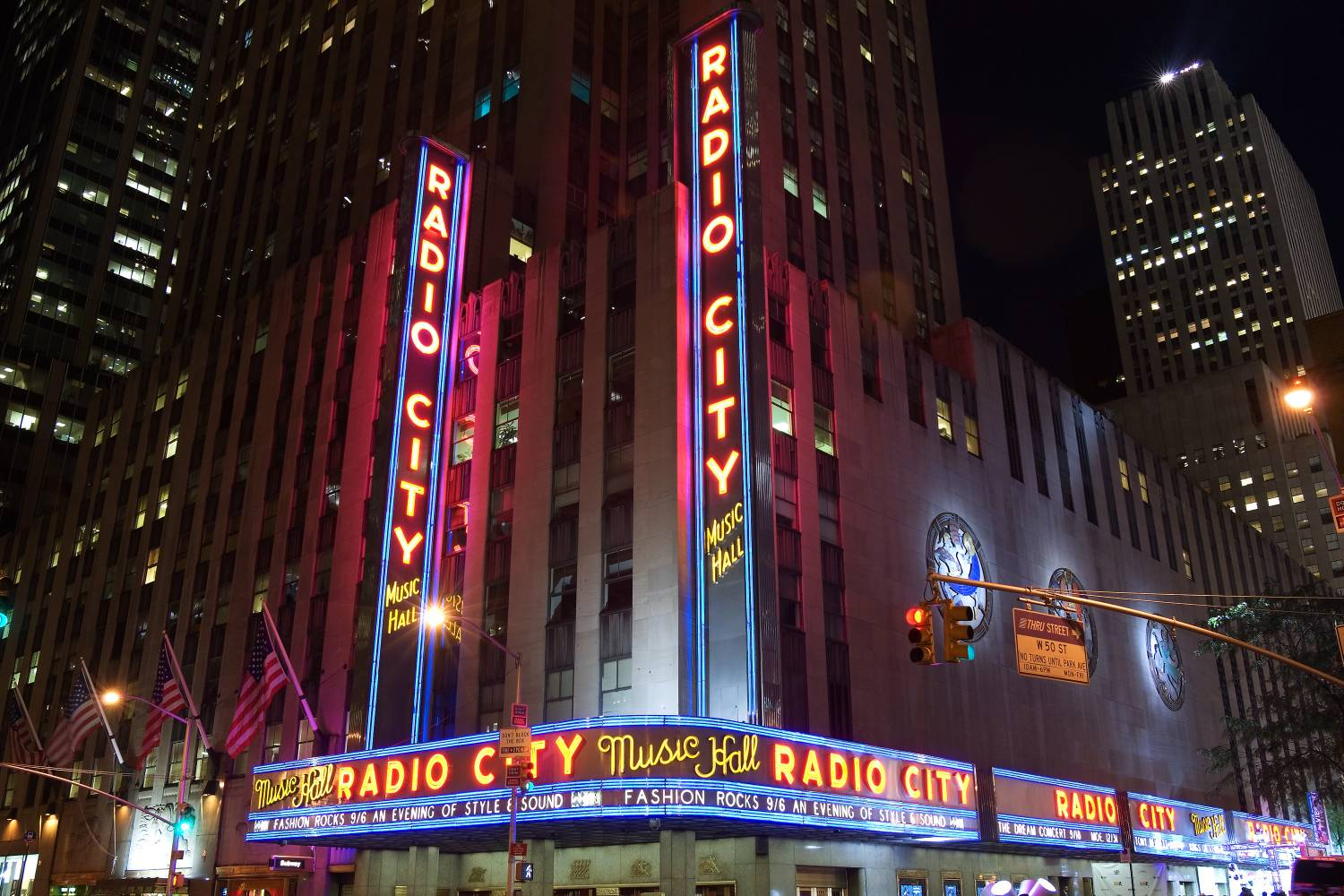 Radio City Music Hall at Rockefeller Center