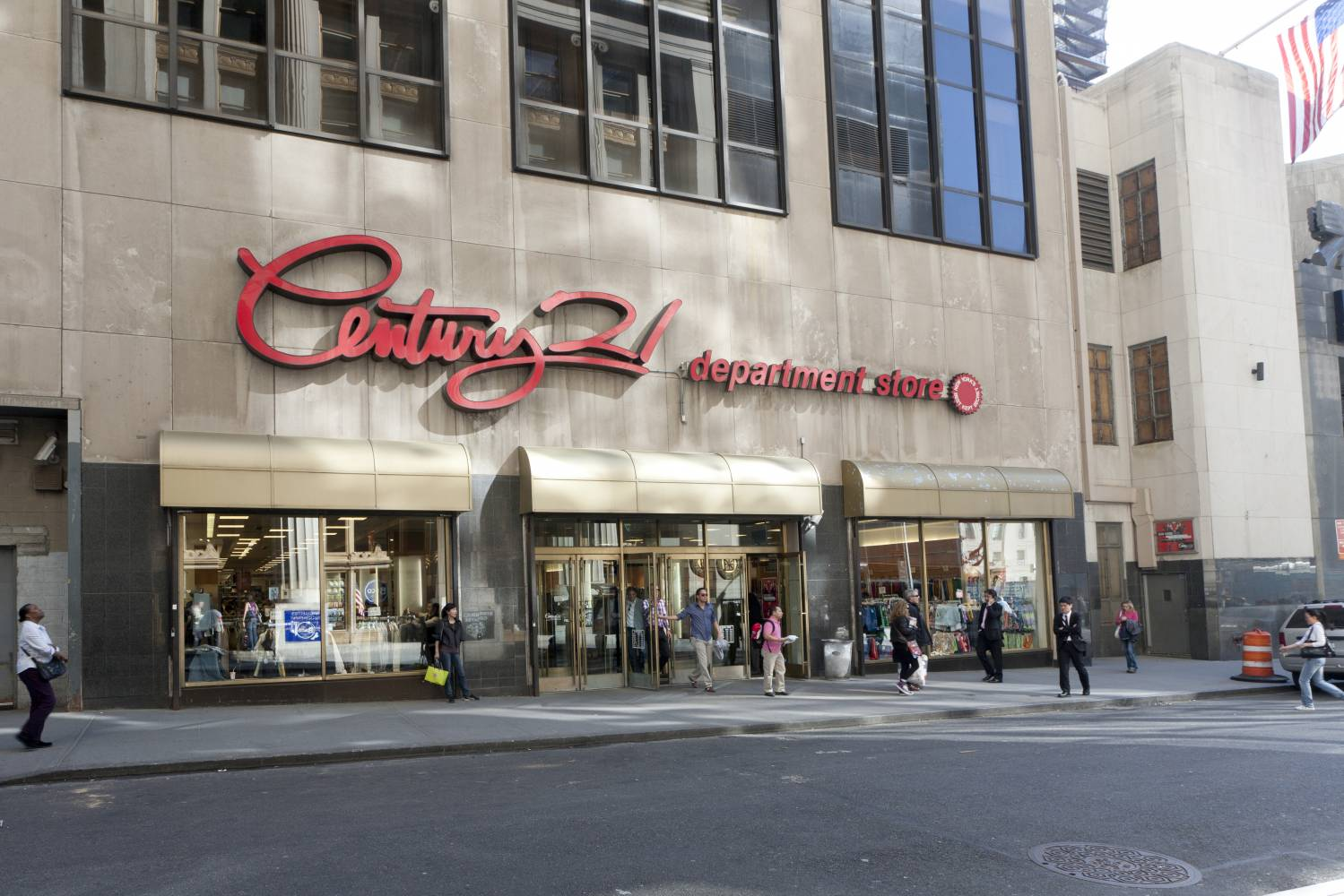 Century 21 Department Store—Downtown: Downtown Shopping