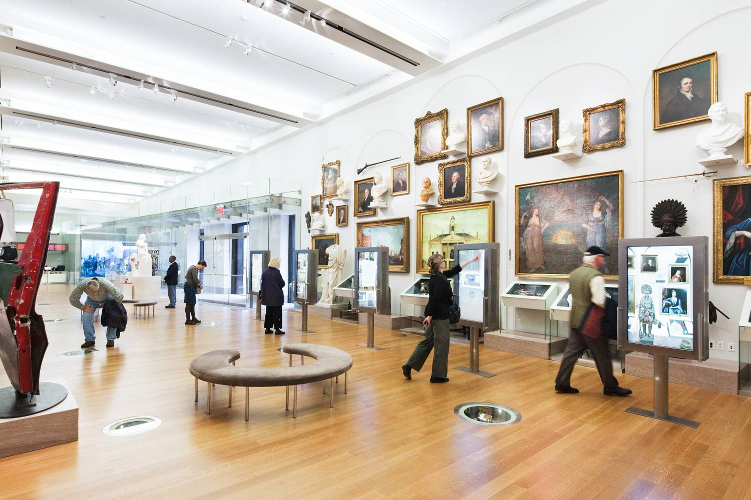 Museum interior of New-York Historical Society