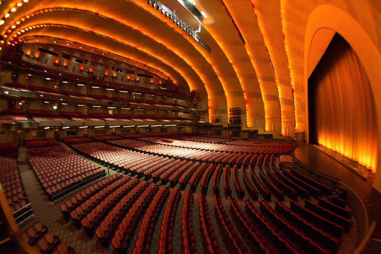Go behind the scenes to get an insiders look at the hallowed art deco environs of Radio City Music Hall on a venue tour