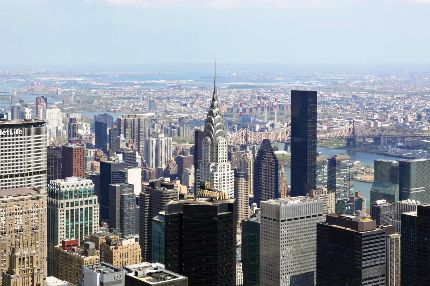 Chrysler Building, view