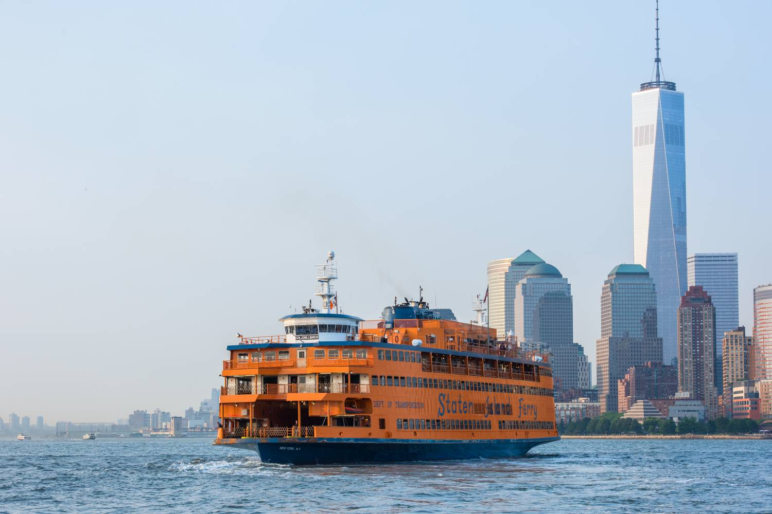 staten island ferry guide: enjoy statue of liberty & harbor views