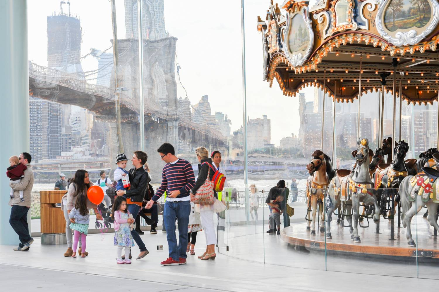 Jane's Carousel at Brooklyn Bridge Park